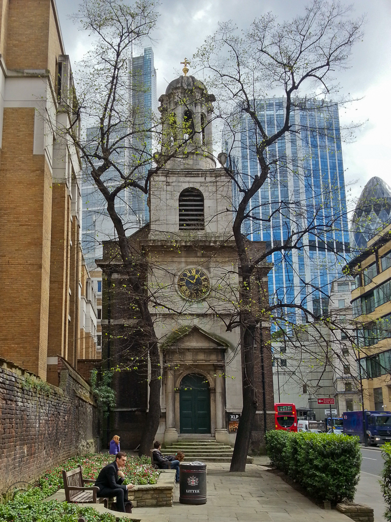 Church of All Hallows on the Wall, London Wall, EC2